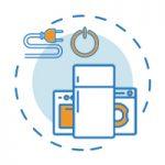 Non lasciare elettrodomestici in stand-by